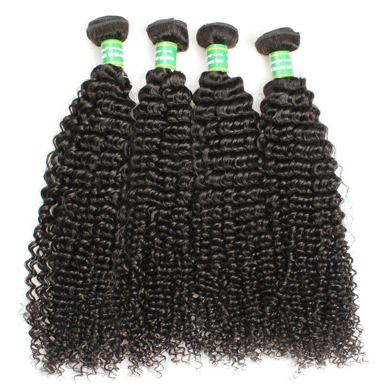 Mongolian Curly 8A Grade Virgin Hair 3 Bundles 100% Brazilian Peruvian Mongolian Tissage Human Hair Weave Bundles 100g Remy Braiding Hair