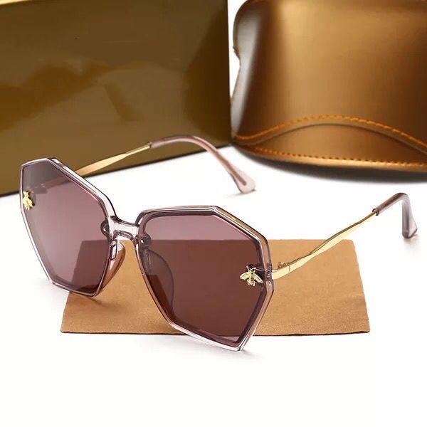 Di alta qualità Nuovo popolare api Occhiali da sole Occhiali da sole Moda Classic Polaroing Occhiali da sole Uomo Donna lusso Specchi da sole