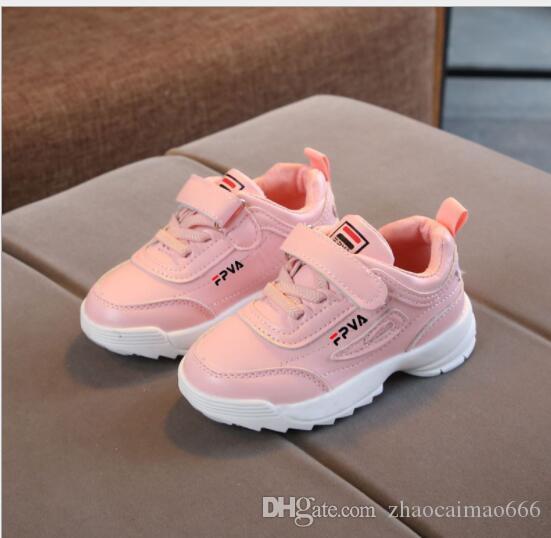 2020 yeni en çok satan marka sonbahar yaz çocuk ayakkabıları erkek ve kadın küçük beyaz ayakkabı çocuk spor doğrudan