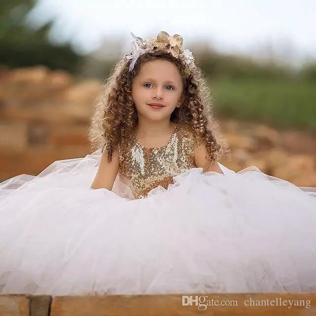 Vestidos de niña de flores Vestido de fiesta Vestido de fiesta de comunión para niñas, niños, niños Vestido para la boda