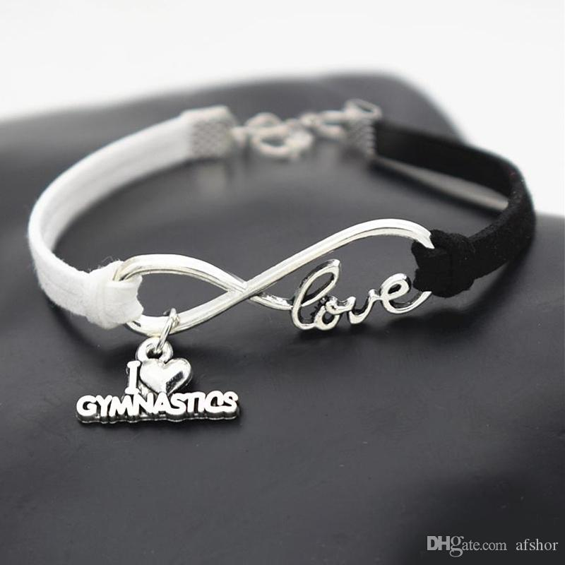Gymnast Charm With Lobster Claw Clasp Charms for Bracelets and Necklaces