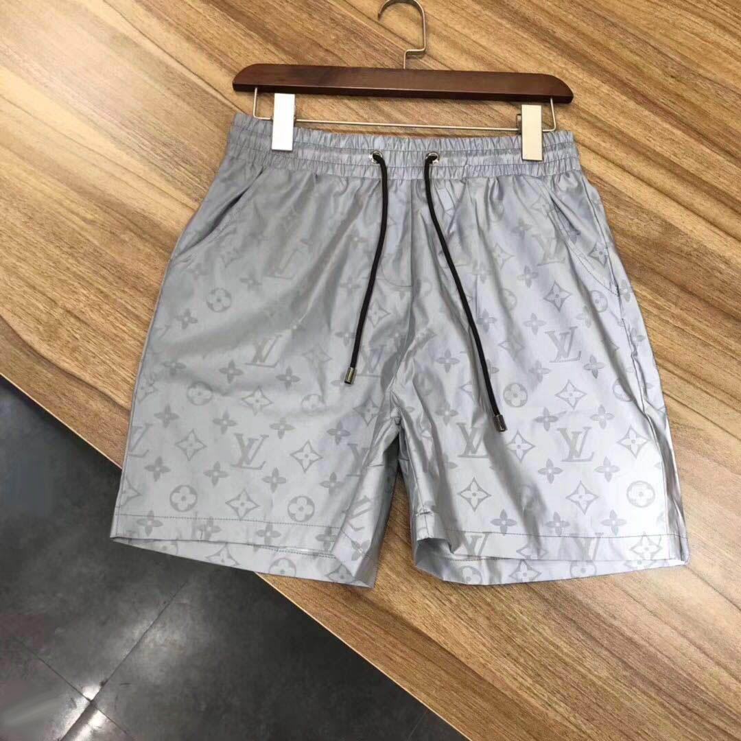 Wholesale summer embroidery board shorts men's summer designer beach shorts pants high quality swimwear male letters surfing life