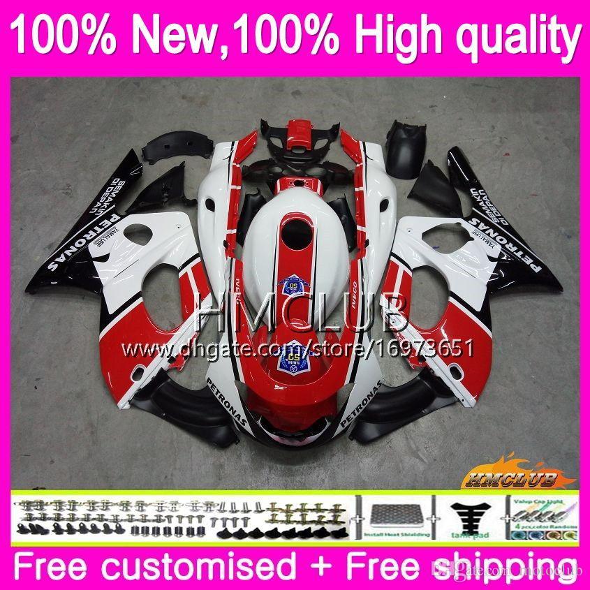 Body For YAMAHA Thundercat YZF600R 96 97 98 99 2000 2001 2002 79HM.0 YZF-600R CC YZF 600R 1996 1997 1998 1999 00 01 02 Fairing Red white blk