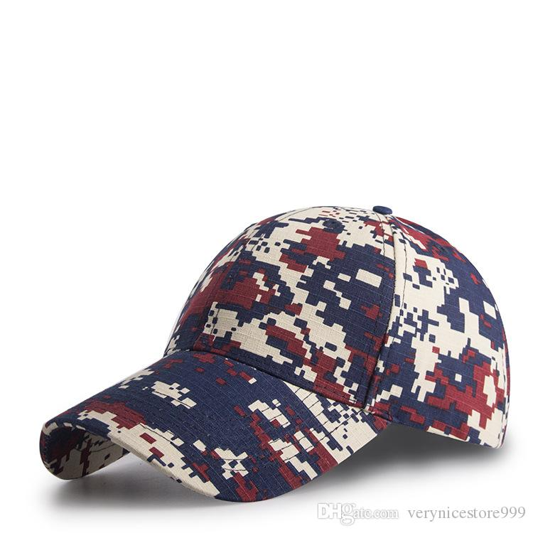 2020 Cool Style Camouflage Men's Baseball Cap Fashion Casual Women's Caps Outdoor Sport Snapback Caps Adjustable Unisex