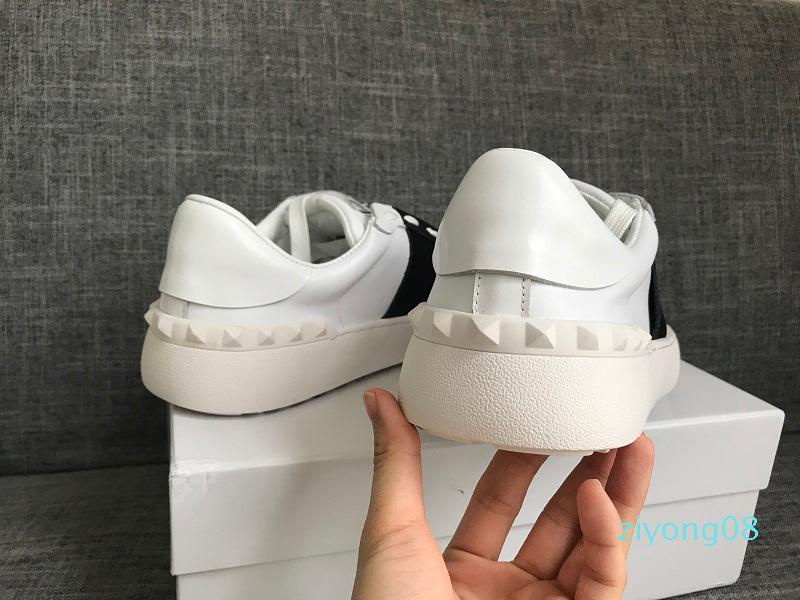Designer di lusso scarpe casuali Rockrunner per il tempo libero Scarpe Uomo Donne Sneakers Sport Skateboard scarpe Appartamenti Scarpa Sport Tennis AE20