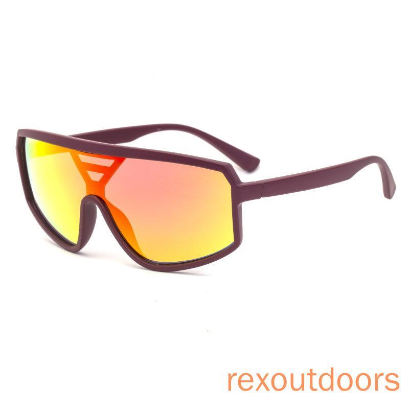 Sports de plein air 2020 nouvelles lunettes de soleil intégrées en Europe et en Amérique