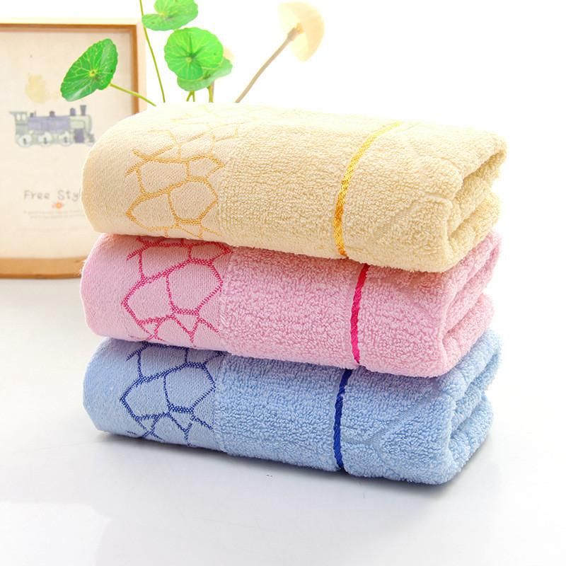 Хлопчатобумажное полотенце плед мягкий и удобный не так легко выцветает хорошее водопоглощение подарок возвращение оптовые полотенца для лица