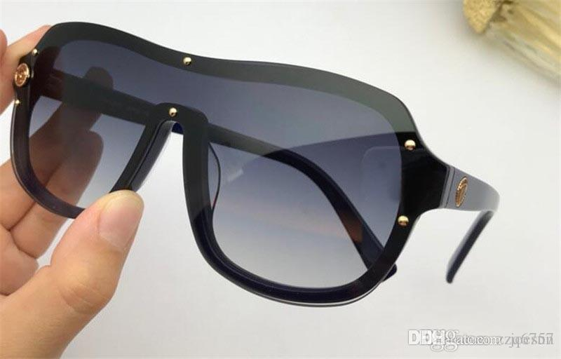 2018 nuovi occhiali da sole fashion designer 4376 occhiali pilota telaio di alta qualità uv400 occhiali di protezione per esterni stile semplice nobile