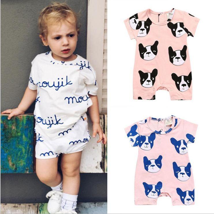 Vêtements bébé garçon Tenues Vêtements unisexe Roupas Bebe jumpsuit vêtements Printemps Automne impressionnant Salopette pour New Fashion Nouveau-nés