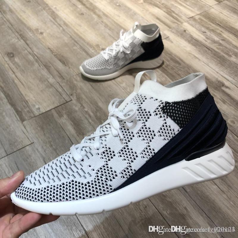 Nouveau Fastlane SNEAKER de luxe designer Chaussures 1a4oc3 1a4obl Hommes sneakers confortable et doux léger en caoutchouc Taille 39-45
