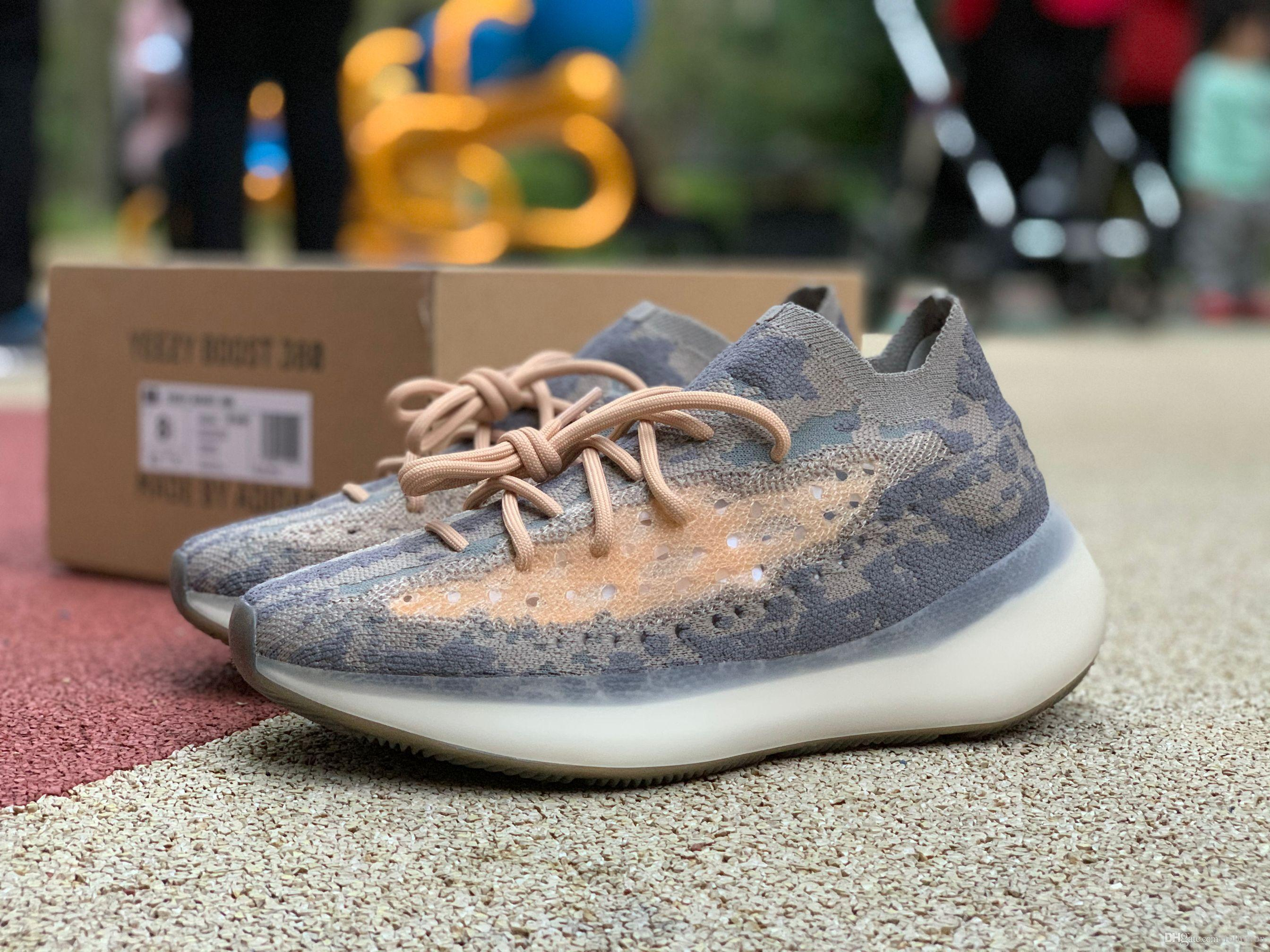 2020 sapatos de luxo Nova marca de moda fora homens mulheres plataforma Kanye tênis para homens tênis branco basquete designer de instrutor sapato