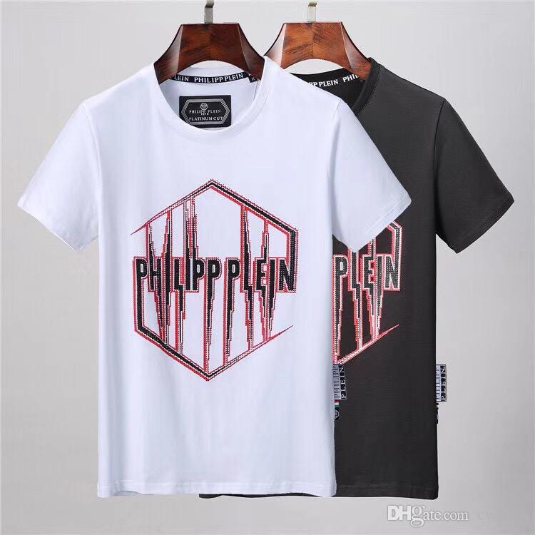 2019 del verano T-camisa de estampado de ojo gusano de manga corta camisa de los hombres bolso de la manera camiseta de los hombres de la marca italiana de las mujeres