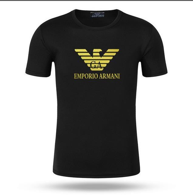 Marca al por mayor Camisetas para los hombres de manga corta gran logo camisa de verano ocasional pareja cuello redondo ropa moda carta impresión camiseta