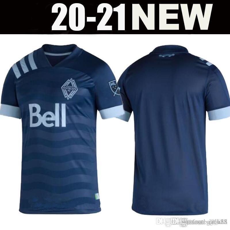 MLS 2020 2021 Vancouver Whitecaps Away футбольные майки 20 21 INBEOM 4 FELIPE 8 ARDAIZ 9 MONTERO 12 REYNA ALIADNAN футбольные майки Таиланд