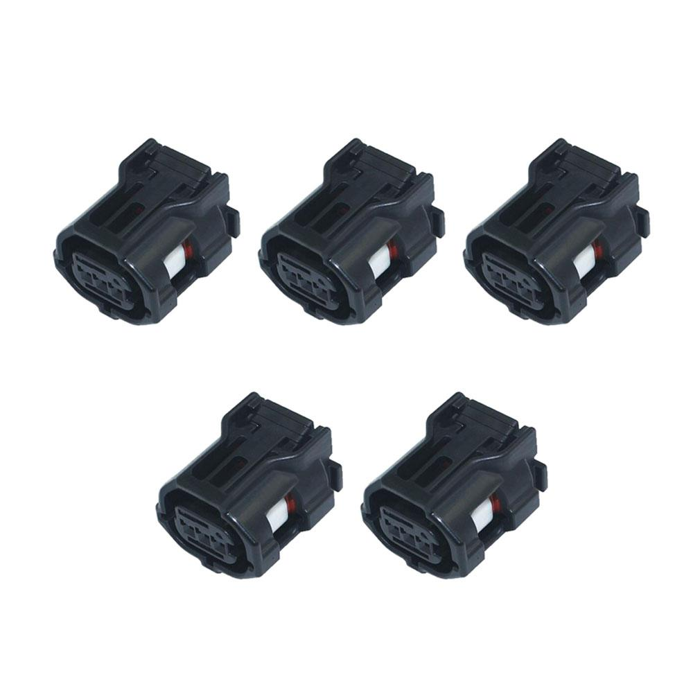 5 комплектов 3-контактный 0.6 серии черный автомобиль водонепроницаемый разъем жгут проводов разъем DJ7032Y-0.6-21