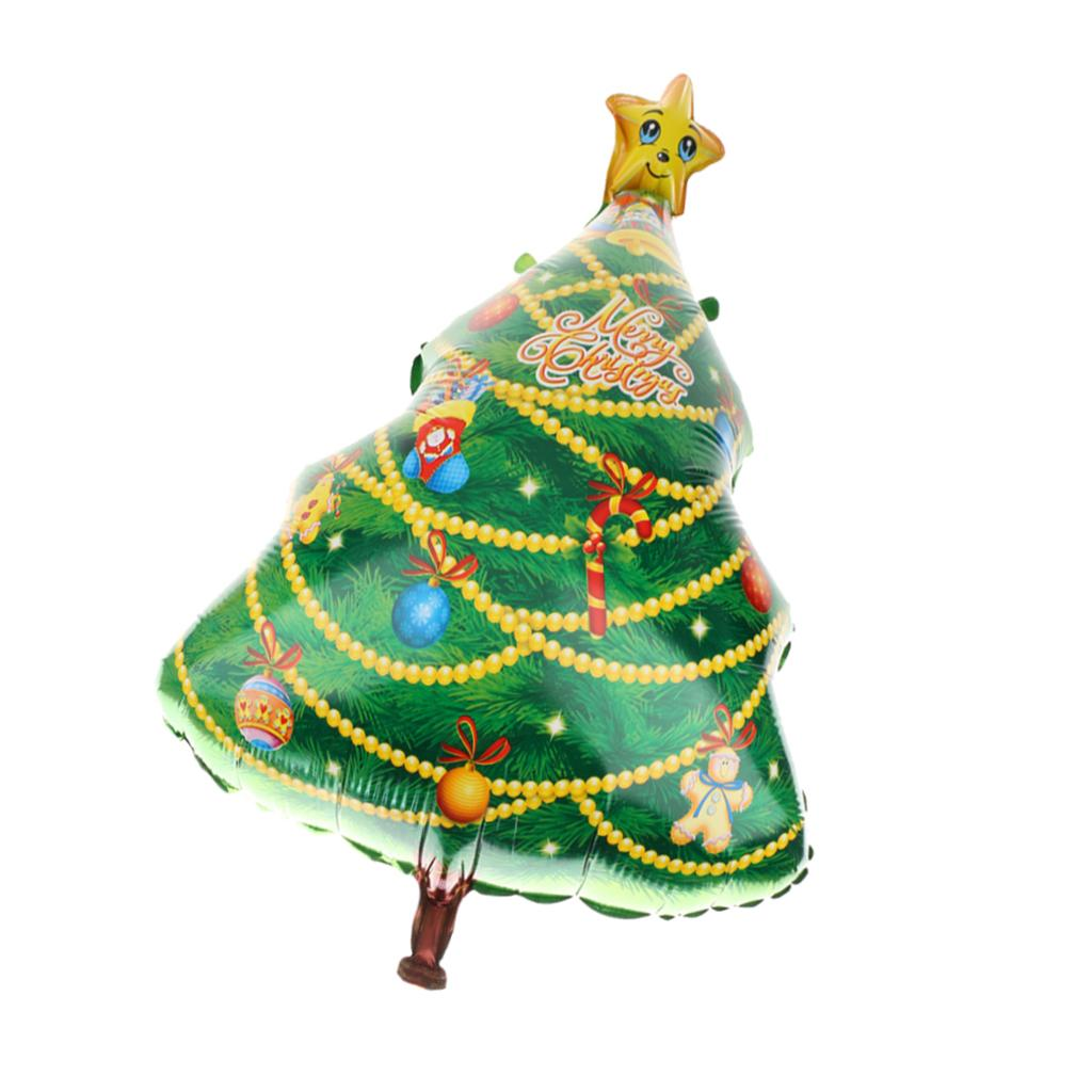 Partido Home Grande árvore de Natal decorada Balões Feliz Natal Acessório