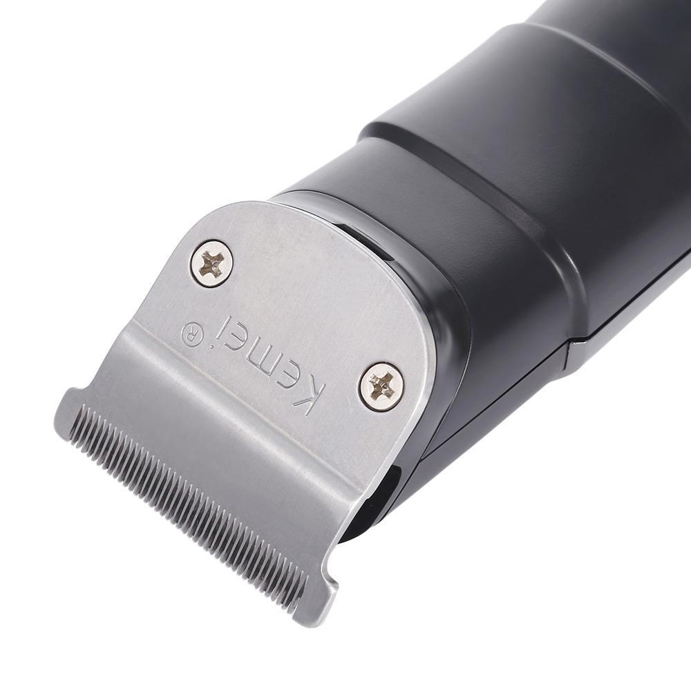 Kemei PG100 Rechargeable Electric sonar hair trimmer Electric Razor Barber Hai MKrgB
