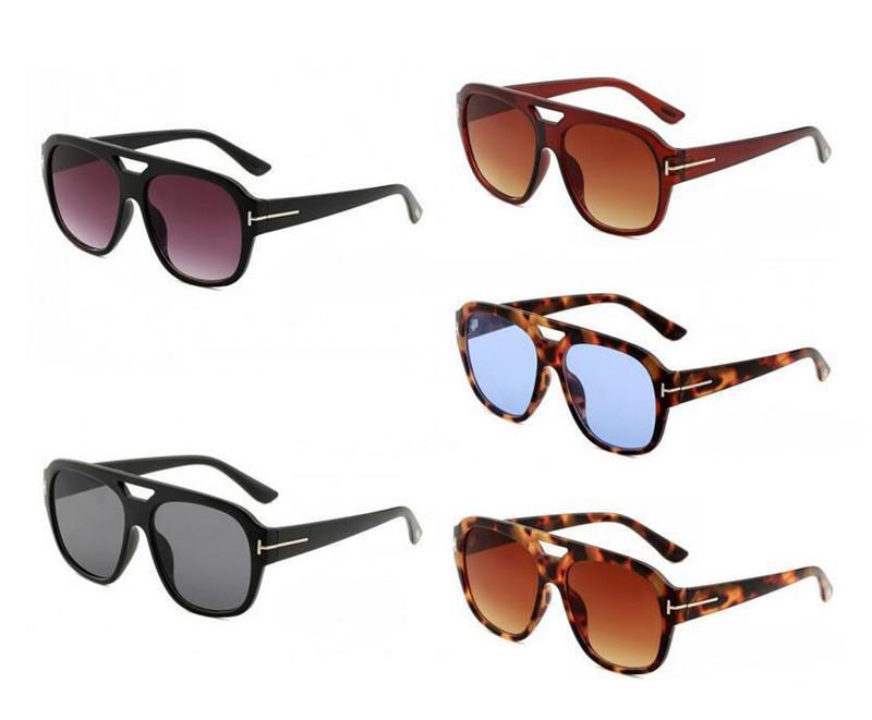El nuevo diseñador de lujo gran calidad de dicha cantidad moda Tom gafas de sol 0630 Para la mujer del hombre Erika Gafas Ford Gafas de sol espejo gafas de envío
