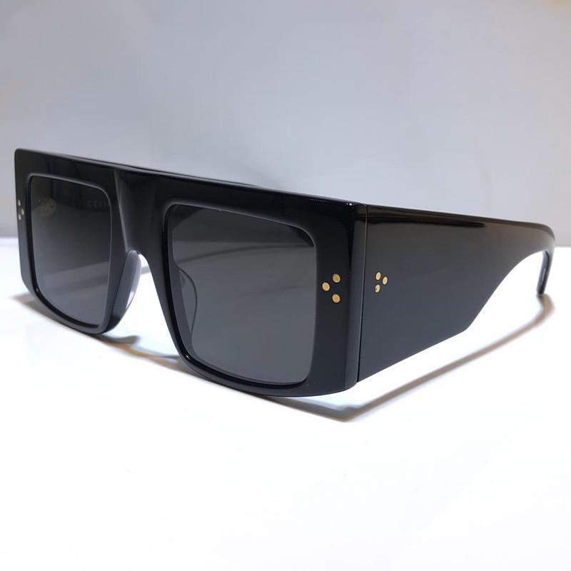 4S105 Lente Gafas de sol Gafas de sol Protección de mujeres Confusión Estilo Marco Nuevas Gafas de sol Moda Especialmente Square Square UV400 Big Simple para Qaav