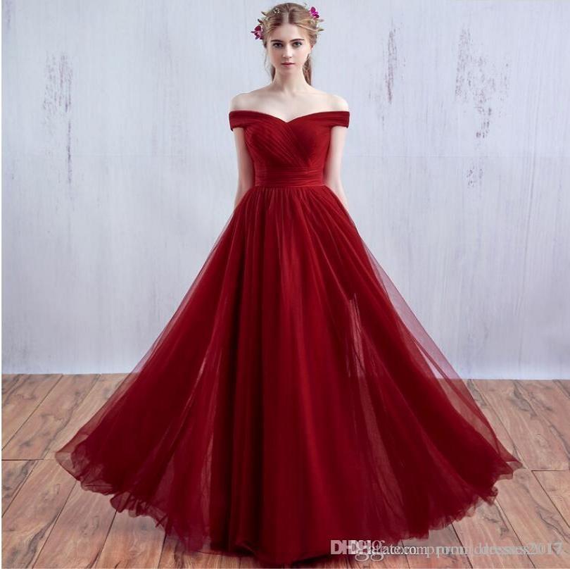 Cheap Alças Red Tulle Vestidos Backless Partido Vestidos Trem da varredura plissado Plus Size espartilho formais Vestidos de baile