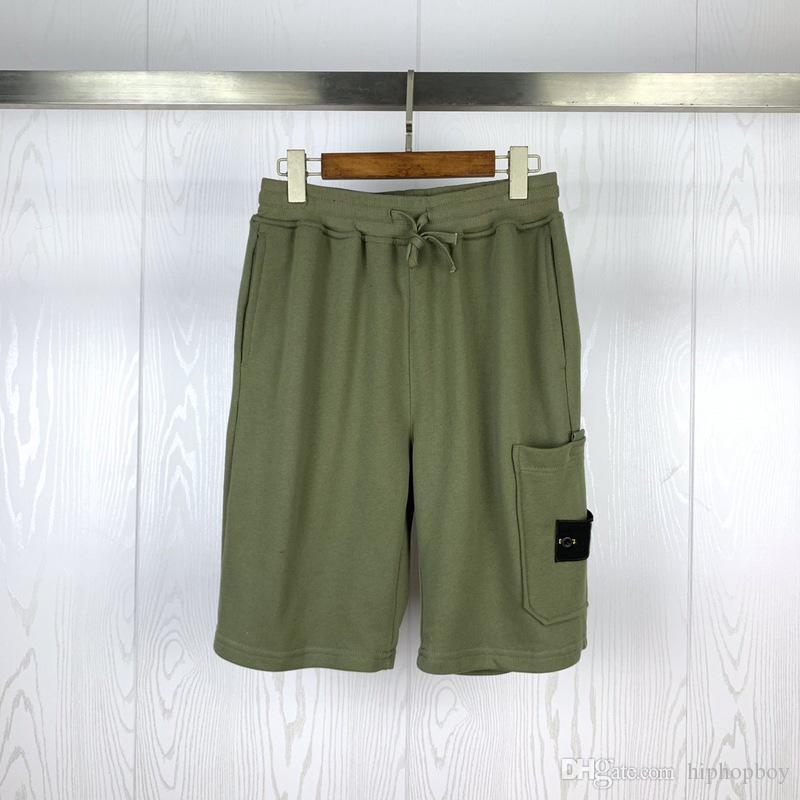 20ss Stilist Erkek Şort Yeni Geliş Yaz Kaykay Hip Hop Pantolon Katı Renk Erkek Stilist Şort Boyut M-2XL