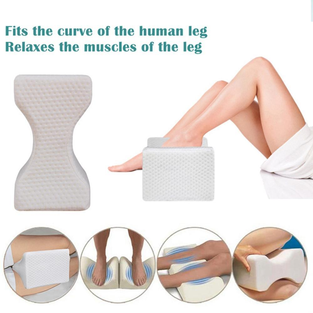 Knee Pillow Foam Leg Cushion Portable Side Sleeper Nap Pad Travel Accessories
