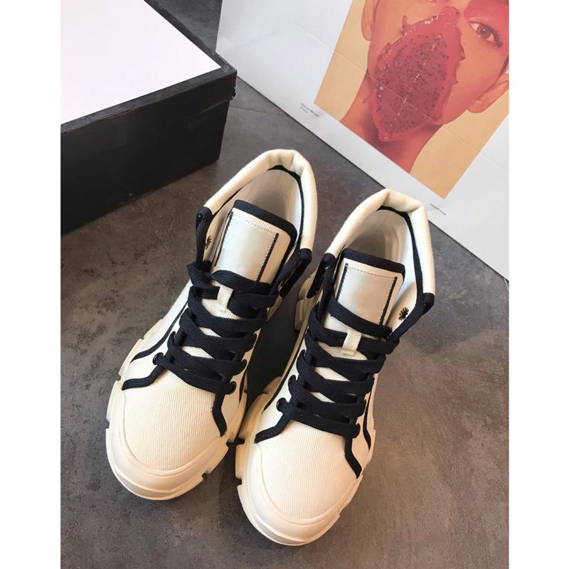Designer Women Shoes Running Shoe Canvas Lace-Up Print Casual Shoes Interior Cotton Fabric Round Toe Free Shipping Colorful cu09