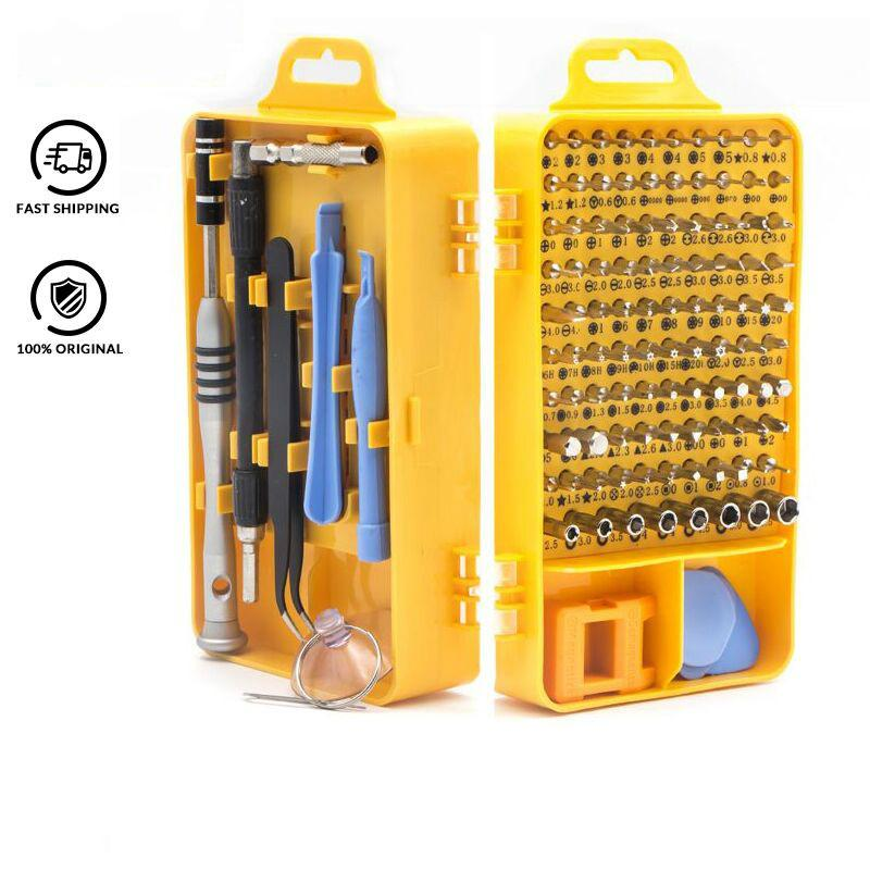 Precision 108 in 1 Screwdriver Set Multi-function Computer PC Mobile Phone Digital Electronic Device Repair Hand Home Tools Bit
