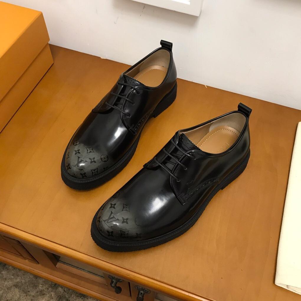2020Дизайнер NEW Мужская обувь Прохождения кроссовкиLVЛуисМужской Бизнес Повседневная обувь 38-45 0007819