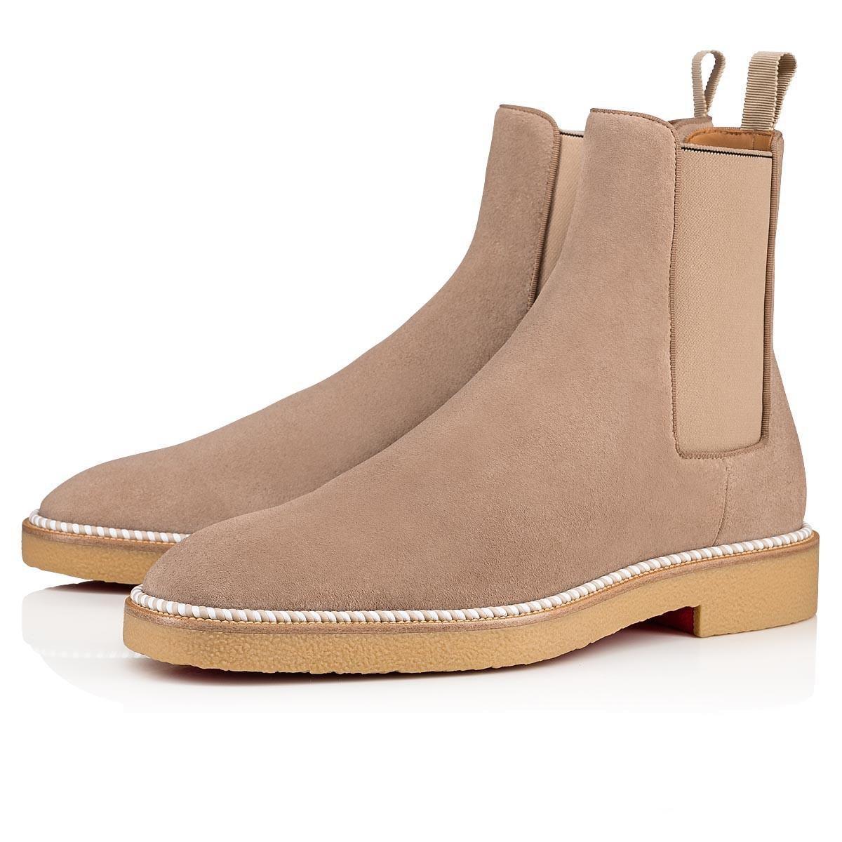 أحمر رجل بسيط الوحيد التمهيد الكاحل ارتفاع أعلى أحذية رياضية كريب أحذية الكاحل الحذاء الأسود الجلد المدبوغ شقق أحذية الرياضة، لوكس الرجال السامية الأعلى أحذية رياضية شقق العلامة التجارية دي
