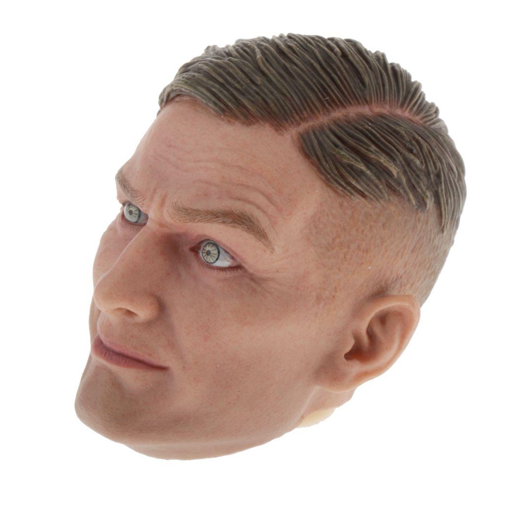 1:6 Scale Male Head Sculpture Sculpt for 12/'/' Hot Toys Kumik
