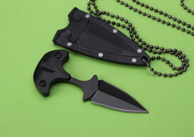 дроп-доставка горячей продажи коготь складной / puching фиксированный нож охоты / кемпинг инструменты на открытом воздухе инструменты 440C лезвия ABS оболочки