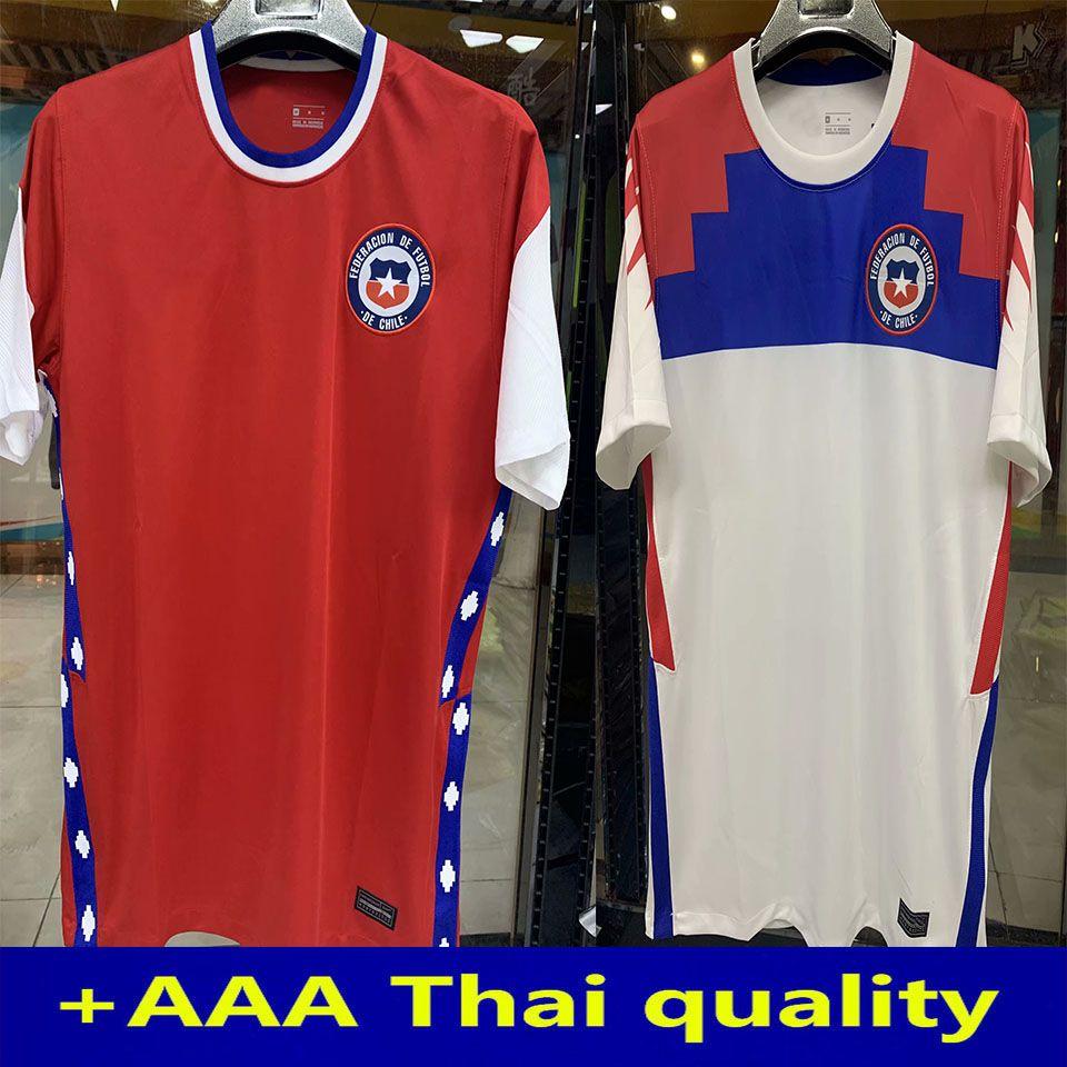 20 21 Чили Mailoots de Foot Футбол Джерси Национальная команда Vargas Medel Vidal Alexis 2020 2021 Футбольная рубашка