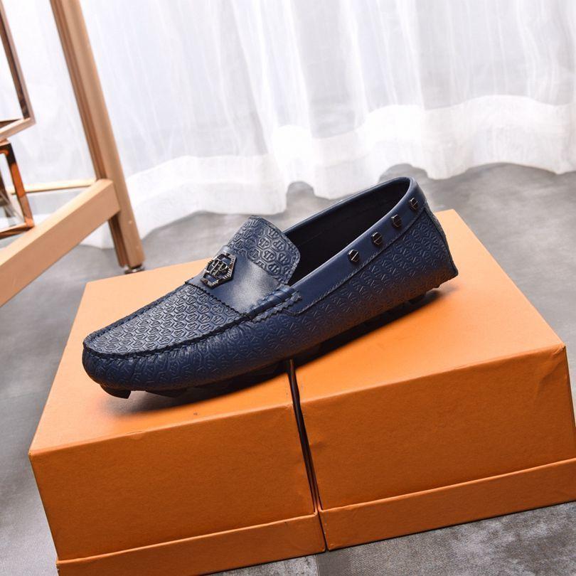 Erkekler moda fasulye yumuşak rahat rahat ayakkabılar Doug nefes rahat ayakkabılar sürüş ayakkabı soled
