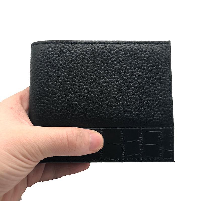 Sıcak satış Erkek cüzdanlar Moda Çanta İnce Cep Cüzdan Deri Kredi Kartı sahipleri Kartı Çantaları Çanta Çanta Kart Cüzdan Para Çanta