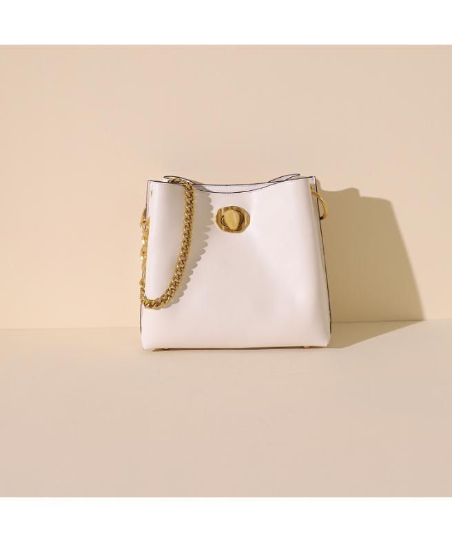Spring chain bucket bag women 2020 new style simple messenger bag