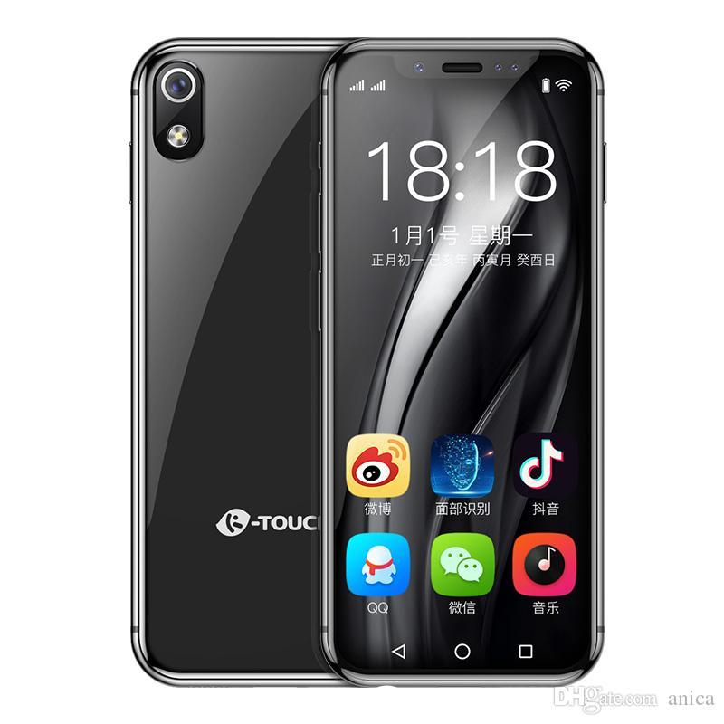 "3.5"" 4G LTE CDMA WCDMA Andriod8.1 Celulares Smartphones Face Lock 64GB QuadCore 8MP Mini Unlocked Cell Phone Russian Slim Mobile Phone"