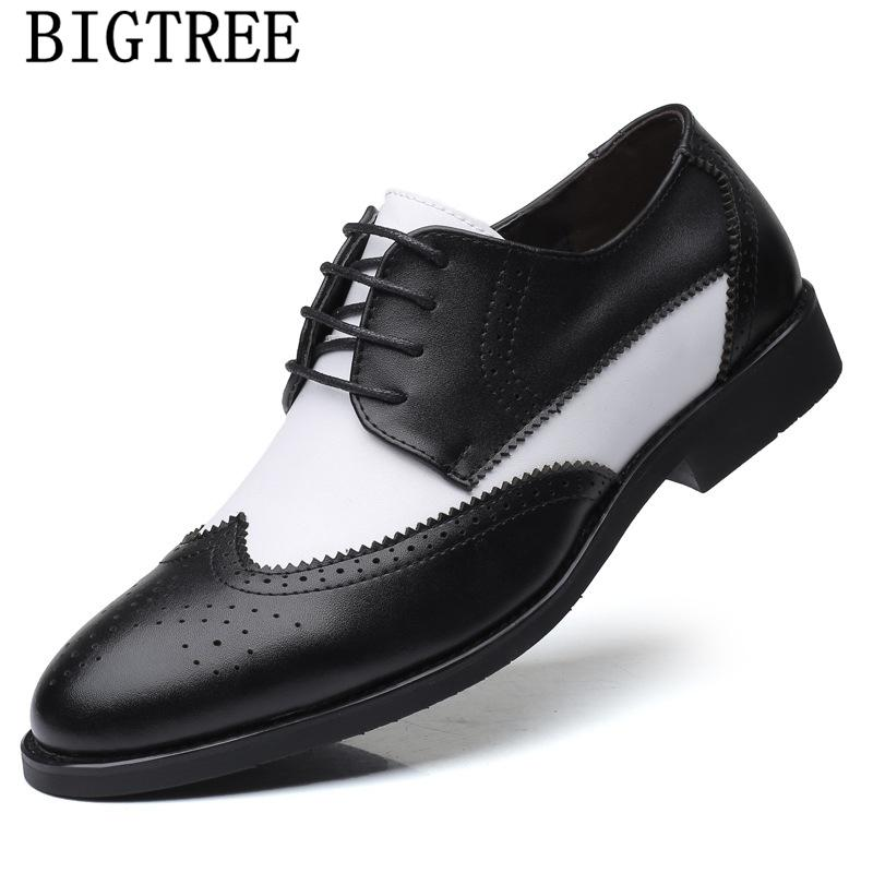 chaussures de mariage hommes formelle chaussures Coiffeur richelieu robe de soirée italienne hommes grande taille robe classique 48