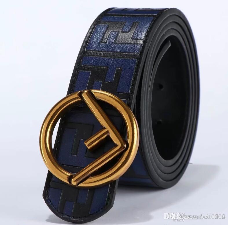 2020 de lujo de diseño de hombre y mujeres de la correa con hebilla de metal de moda real superior de cuero de alta calidad del diseñador de lujo masculino y femenino Cinturones