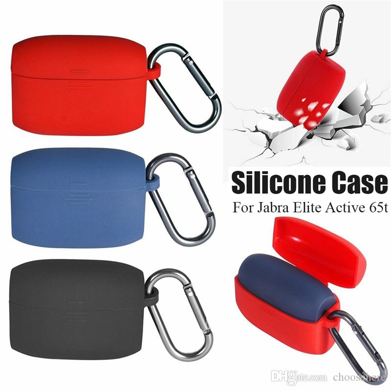 2020 New Jabra Elite Active 65t Non Slip Drop Full Protection Cover Earphone Flip Silicone Case With Carabiner From Choosehere 1 74 Dhgate Com