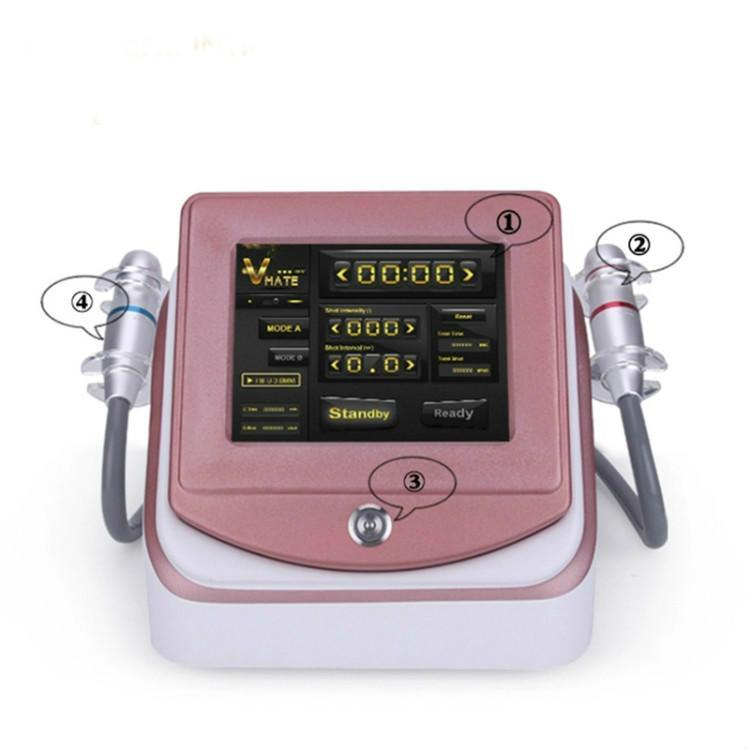 2020 Hifu macchina Face Lift professionale salone di bellezza Usa 3.0mm4.5mm Per la rimozione delle rughe della pelle di serraggio High Intensity Focused Ultrasound