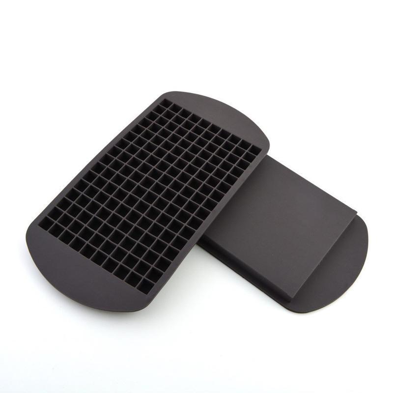 Großhandel Silikon-Eis-Würfel-Behälter Mini Cube Silikon-Hersteller-Form Freeze-Form-Eis-Würfel-Form-Eisspeicher-Kasten-Form Ice Cream Werkzeuge DBC DH0633