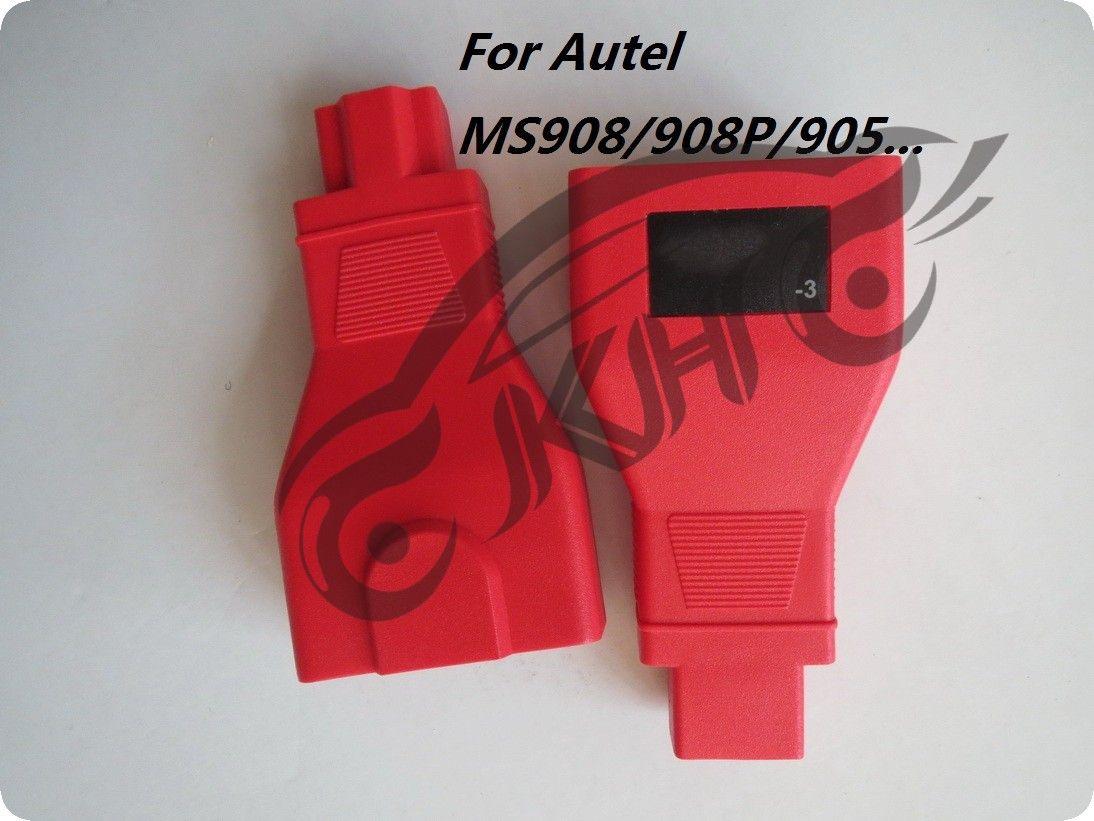 for Autel For HONDA -3 Pins MaxiSys Pro MS906 MS906BT MS906TS MS908S Pro Mini MaxiCOM MK908P OBD I Adapters DLC Connector