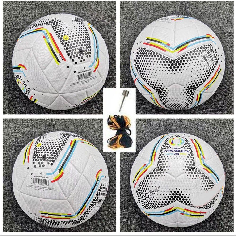 جديد 2020 كوبا أمريكا لكرة القدم الكرة النهائي KYIV PU حجم 5 كرات حبيبات زلة مقاومة كرة القدم الحرة الشحن كرات عالية الجودة