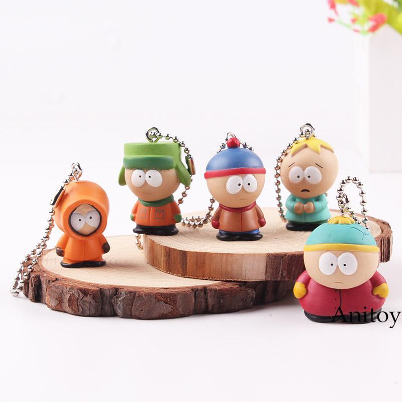 set South Park Kyle Butters Stan Cartman Kenny Figuren Jouets Gift Cute 5pcs