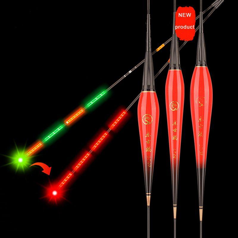 Смарт Рыбалка поплавок 1шт светодиодный световой оборудование, включая аккумулятор CR425 ночная рыбалка тяжести Sensery обломок стопора аксессуары