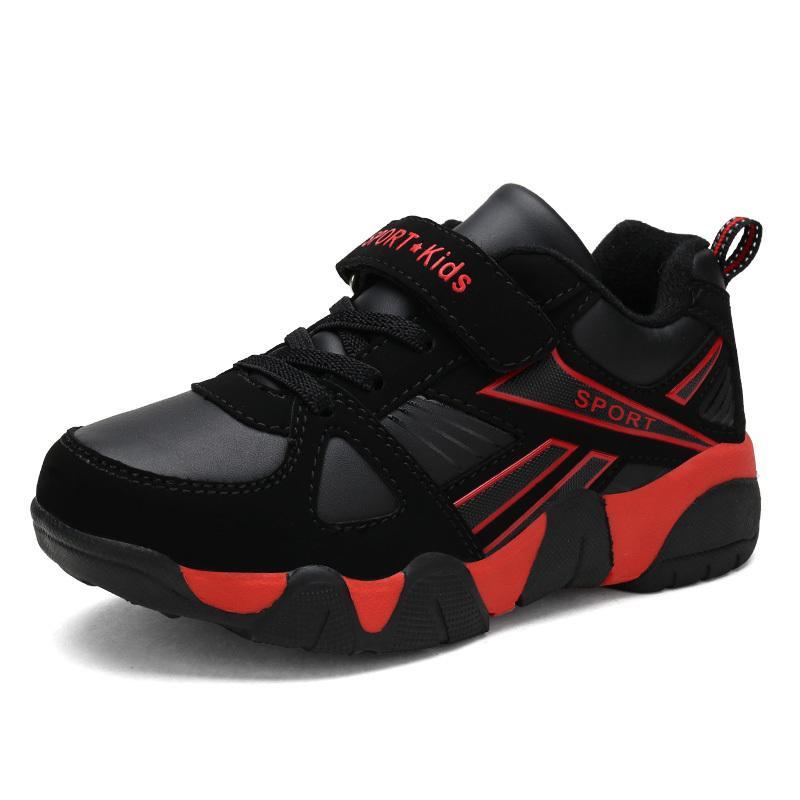 1cca2f89646 Ulknn Autumn Winter Children Sneakers Kids Shoes For Boys Sport Trainer  Outdoor Leather Running School Shoes Kinderschoenen Y190525