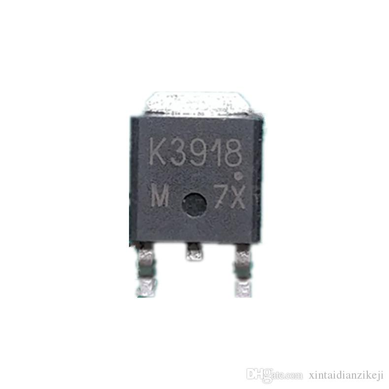 2SK3918 K3918 TO-252 DPAK Motherboard FET MOS tube triode quality test good package on the machine