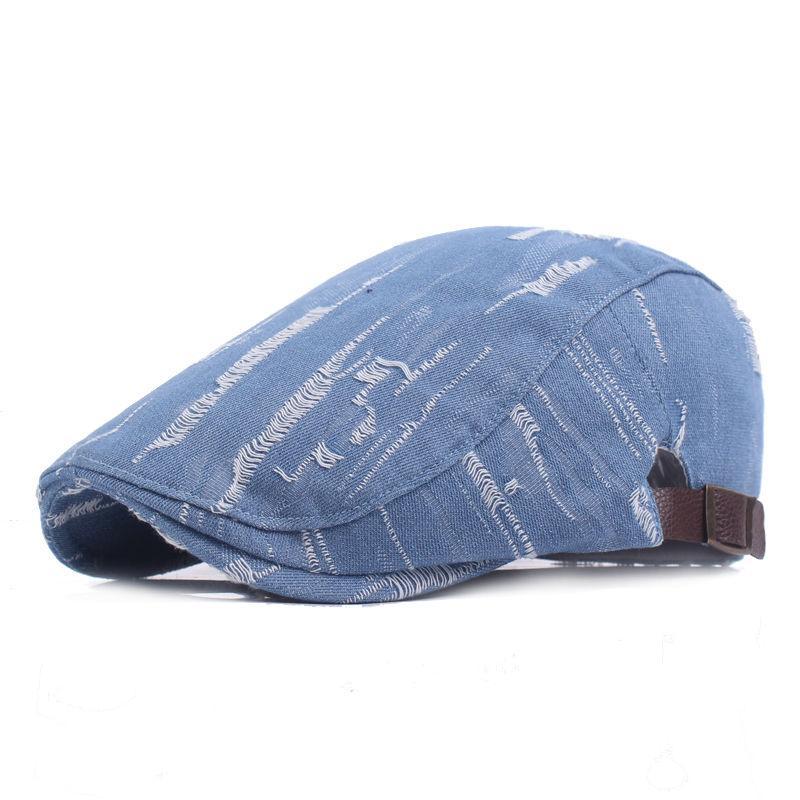 Marca de moda de la vendimia del verano sombreros de Sun de los hombres ocasionales de las mujeres de alta calidad de las mujeres del algodón de la boina casquillos al aire libre