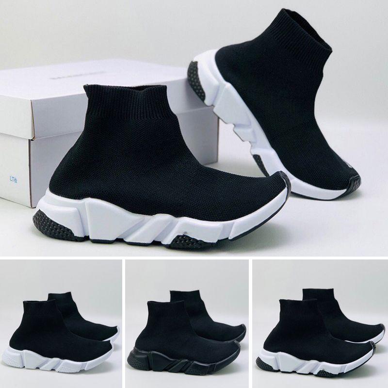 Speed Vente Chaude De Luxe Designer Enfants Chaussures Paris Triple S 2.0 Sneakers Enfants Casual Chaussures pour Meilleure qualité Hommes Femmes Sneakers